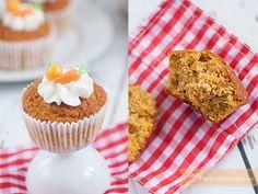 Receta de muffins integrales