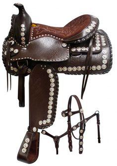 17 / Black Double T Parade Style Saddle