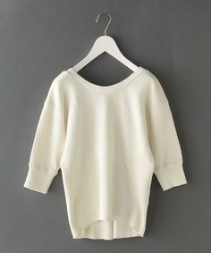 6(ロク)の<6(ROKU)>BIG THERMAL 6SLEEVE/カットソー(Tシャツ/カットソー)|ナチュラル