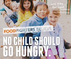 Do you believe that no child should ever go hungry? WPFF does and YOU should too!