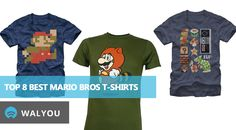 top-8-best-mario-bros-t-shirts Mario Bros 4b9efdfc3
