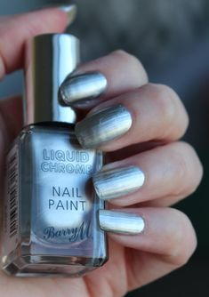 Barry M Liquid Chrome - Daisy Beauty Barry M, Chrome Nails, Daisy, Nail Polish, Beauty, Margarita Flower, Nail Polishes, Cosmetology, Bellis Perennis
