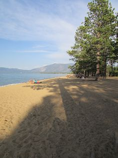 Pope Beach - Hwy 89, SLT - this is a nice beach, family friendly - but no dogs allowed. Picnic tables in the shade, BBQ's for use, restrooms and lots of beach. Park on the highway and walk/ bike in for free or pay $7 to park in the lot. Rentals (kayaks/ SUPs) are available. Get there early on the weekends - popular beach. More Info: http://www.tahoepublicbeaches.com/pope-beach/