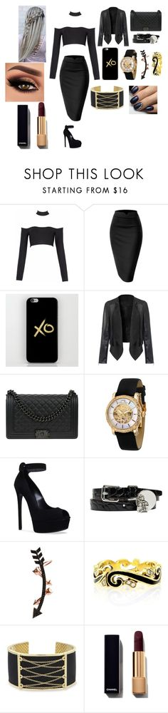 """""""#80"""" by vtamane ❤ liked on Polyvore featuring Chanel, Porsamo Bleu, Casadei, Alexander McQueen, Wild Hearts, Hidalgo and Laundry by Shelli Segal"""