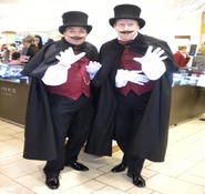 Victorian mime artist and street entertainers for hire London and the UK.Dickensian entertainment ideas.
