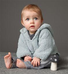 Modèle pull à capuche bébé - Modèles tricot layette - Phildar