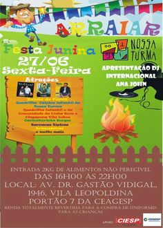 ÁJAX - NOTÍCIAS: FESTA JUNINA EM SÃO PAULO