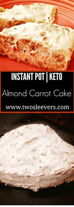 Make a Keto Gluten-Free Carrot Cake in your Instan…
