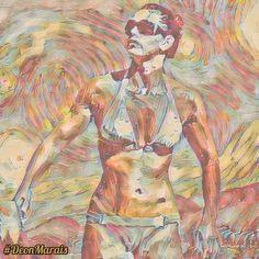 Hottest Models, Painting, Art, Art Background, Painting Art, Kunst, Paintings, Performing Arts, Painted Canvas