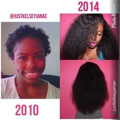 {Grow Lust Worthy Hair FASTER Naturally} ========================== Go To: www.HairTriggerr.com ========================== Amazing 4.5 Year Natural Hair Journey @justkelseyjanae