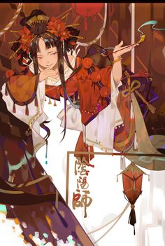 攀-怒又兴趣主义_阴阳师,清姬_涂鸦王国插画 Character Illustration, Illustration Art, Character Inspiration, Character Art, Illustrations And Posters, Anime Style, Manga Art, Japanese Art, Asian Art