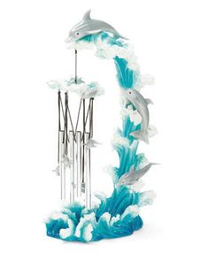 Standing Dolphin Chimes