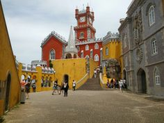 Sintra. Portugal . Things To Do In Lisboa –  10 Top Attractions And Must-sees In The Portugal's Capital!