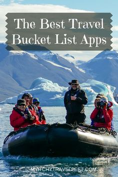 The best travel bucket list apps for boomer travelers. Dream, plan, go with our list of recommended travel apps. #bucketlist #boomertravel #travelapps