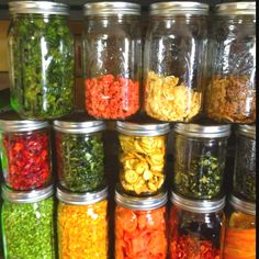 Dehydrated vegetables and fruits!!
