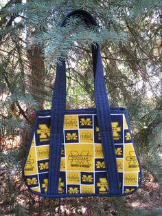 Michigan Wolverines Sports Bag