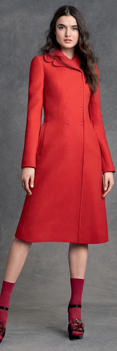 Dolce & Gabbana Women's Clothing Collection Winter 2016