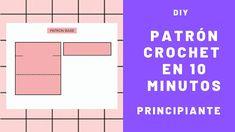 💛 COMO HACER UN PATRÓN DE CROCHET PASO A PASO GRATIS - DIY | NIÑA MOZZA #crochet  #crochetpatterns  # #manualidades