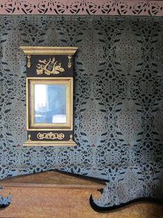 Bildresultat för schablonmålning mönster