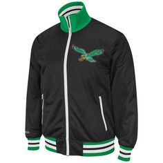 Philadelphia Eagles Throwback Preseason Warm-up Track Jacket