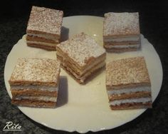 TraRita sütödéje és egyéb munkái : Grízes mézes Hungarian Recipes, Hungarian Food, Vanilla Cake, Tiramisu, Cheesecake, Treats, Baking, Ethnic Recipes, Sweet