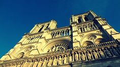 Notre Dame de Paris - Paris - France - Sky - Travel