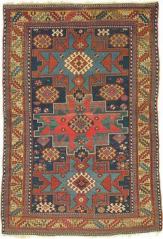 Lesghi Caucasian Rug