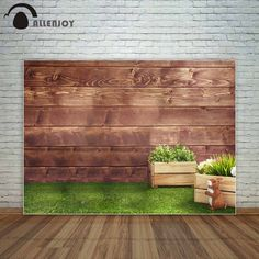 Consumer Electronics Responsible Baby Kids 2nd Birthday Backdrop Indoor White Brick Wall Printed Flags Wooden Boxes Toys Children Photo Background Wood Floor At Any Cost