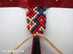 A cleaner-looking way to start and finish knotted friendship bracelets