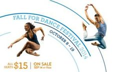 New York City Center's annual Fall for Dance Festival will feature free performances in Central Park and 24 acclaimed dance companies and artists from around the world, in six unique programs in September and October Brian Brooks, Dance Company, Lineup, New York City, Running, News, Fall, Autumn, New York
