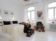 Camas nórdicas: Vestir una cama grande con dos fundas nórdicas