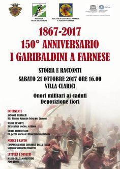 Celebrazione del 150° anniversario della campagna garibaldina a Farnese
