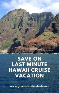 Save money by taking a last minute cruise vacation to Hawaii! Enjoy a great deal on a cruise departing from San Francisco or Los Angeles California with ports of call like Hilo, Honolulu, Kauai, Maui & more.