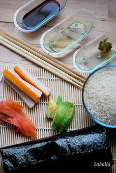 Curso de sushi.