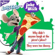 """Do you tell """"cheesy"""" jokes?"""