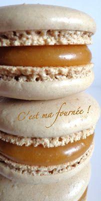 C'est ma fournée !: Macarons caramel beurre salé (Felder) Le caramel est facile à faire et délicieux