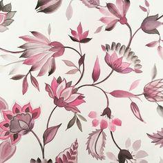 Flowers watercolor pattern inspiration 57 ideas for 2019 Watercolor Pattern, Pattern Drawing, Watercolor Flowers, Art Floral, Floral Motif, Flower Prints, Flower Art, Flower Girls, Flower Patterns