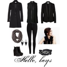 Crowley Cosplay by kikigrace on Polyvore