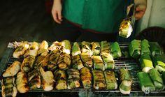 Lê la hè phố Sài Gòn, nhất định phải ăn chuối nếp nướng cô Út - Ảnh 6.