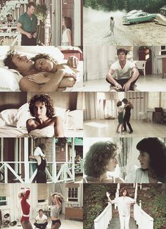 "Johnny: You wanna hear something crazy? Last night I... I dreamed we were walking along and we met your father. He said, ""Come on,"" and he put his arm around me. Just like he did with Robbie. Dirty Dancing"