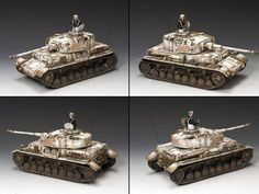 World War II German Winter BBG065 Panzer IV H Tank set - Made by King and Country Military Miniatures and Models. Factory made, hand assembled, painted and boxed in a padded decorative box. Excellent gift for the enthusiast.