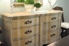 how to refinish with chalk paint