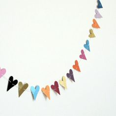 another easy garland - make it while watching tv