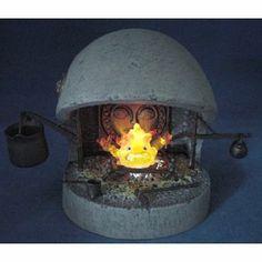 「ハウルの動く城」 カルシファー暖炉セット