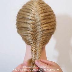 Easy Hairstyles For Long Hair, Braids For Long Hair, Up Hairstyles, Braided Hairstyles, Hairstyle Men, Style Hairstyle, Female Hairstyles, Hair Up Styles, Medium Hair Styles