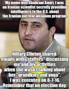 Notice how the liberal media hasn't touched on this one?  #HillaryClinton #Clinton #ClintonScandals #neverhillary #hillno  #crookedhillary