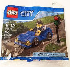 LEGO 30349 Sportauto en Stoplicht (Polybag)