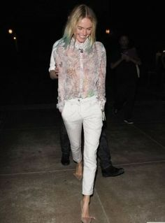Kate Bosworth Wins the Ombré/Tie Dye Hair War–Peep Her New Teal Tips