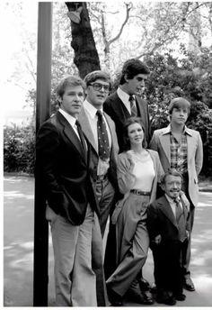 The original star wars cast.