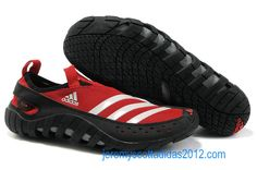 Adidas Jawpaw 2 2012 Sport Red White Mens Water Grip Shoes